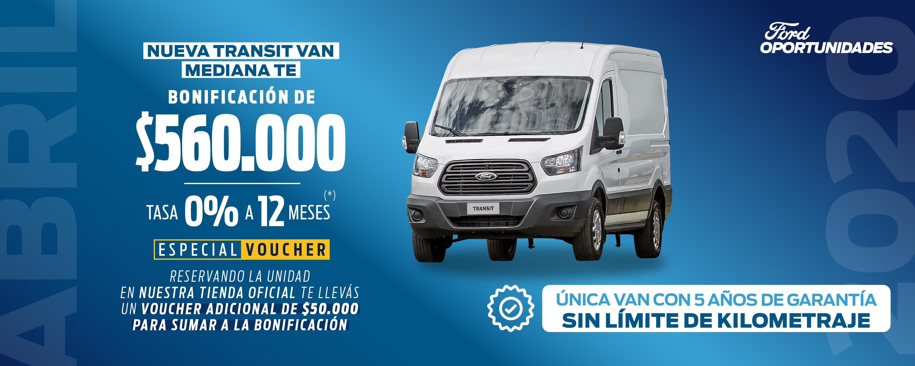 Nueva Transit Van Mediana