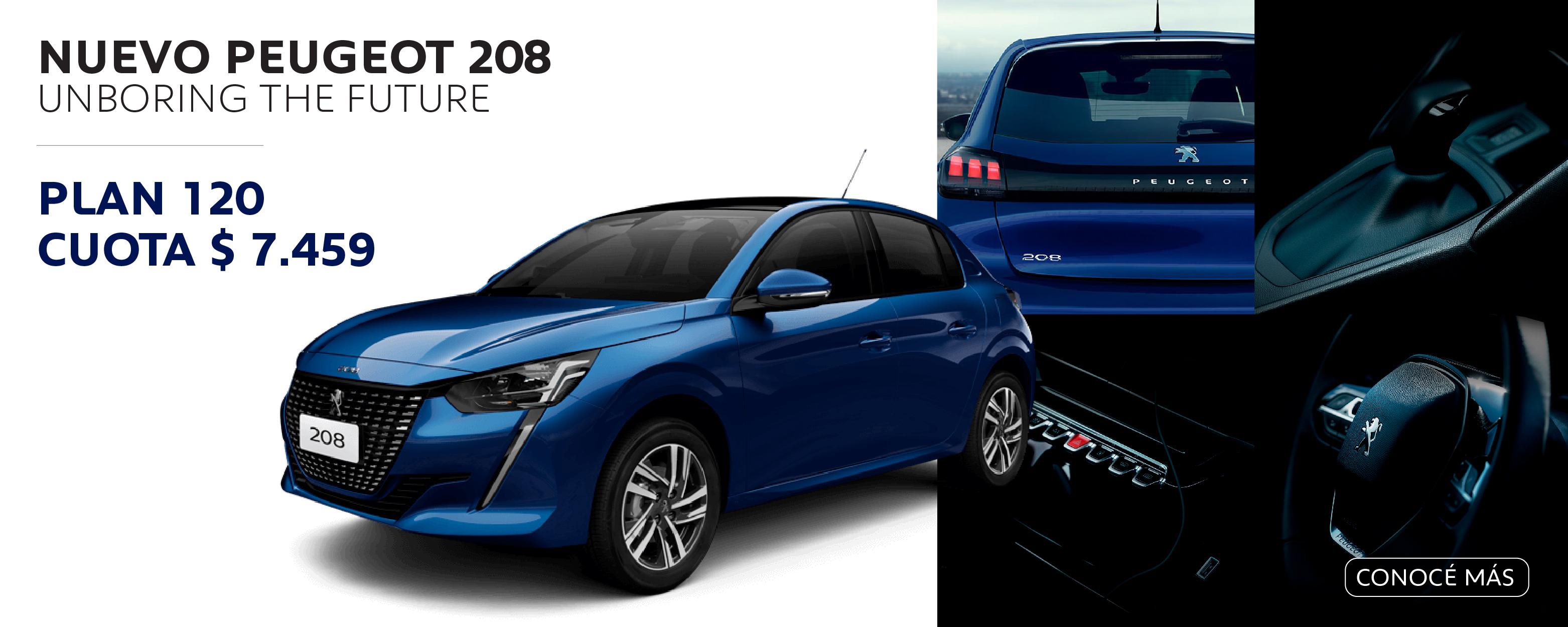 Peugeot 208 Plan de Ahorro